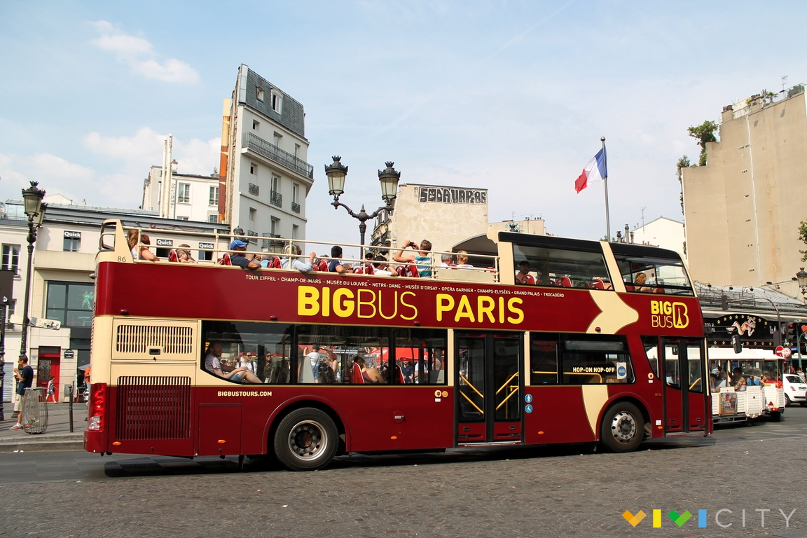 bus turistico a parigi hop on hop off info sul tour e biglietti. Black Bedroom Furniture Sets. Home Design Ideas