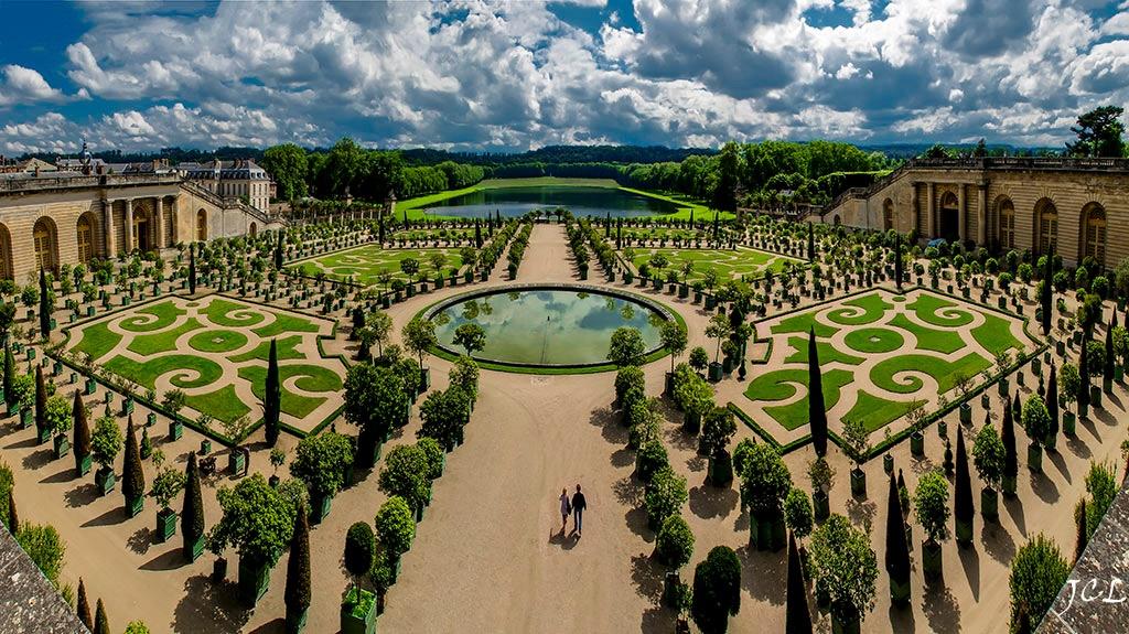 Giardini della reggia di versailles vivi parigi