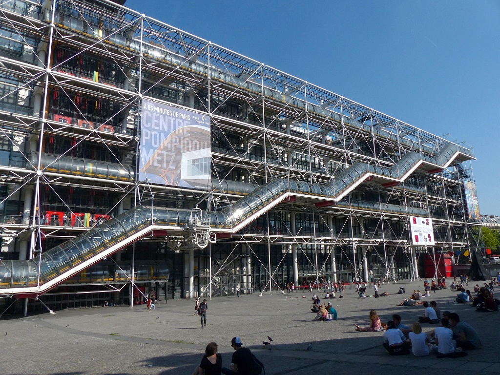 center pompidou esterno