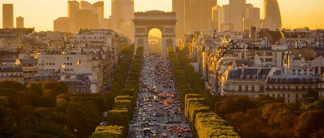 Champs lys es la pi bella strada del mondo for Parigi champ elisee