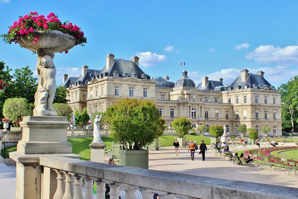 Il palazzo e i giardini di lussemburgo vivi parigi - I giardini di palazzo rucellai ...